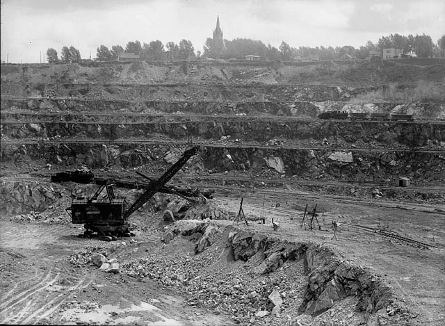 La mine Jeffrey en 1944