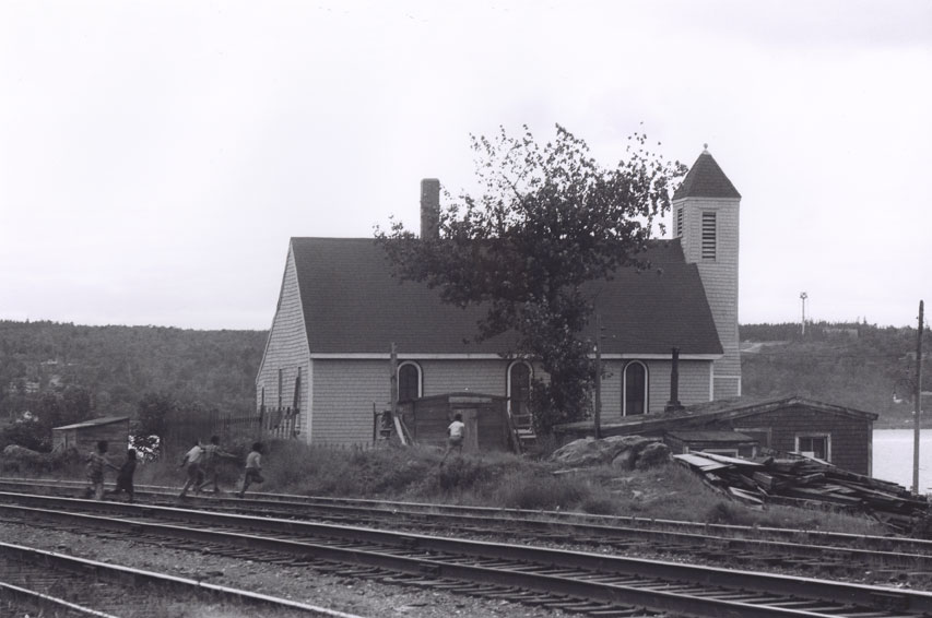Seaview African United Baptist Church, Africville, circa 1965.