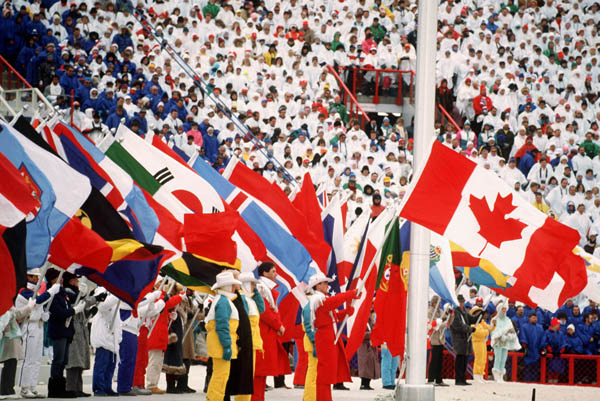 Opening Ceremonies, 1988 Calgary Games