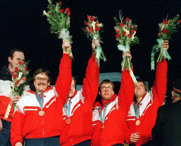 Men's Curling Team, 1988 Calgary Games