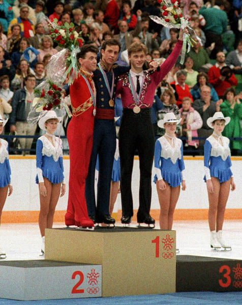 Brian Orser Wins Silver, 1988 Calgary Games
