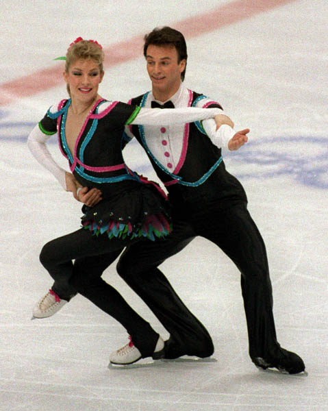 Tracy Wilson and Robert McCall, 1988 Calgary Games