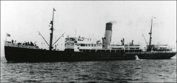 Sinking of the SS Caribou