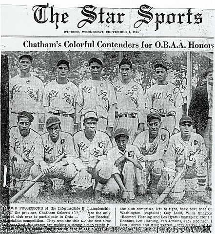 Chatham Coloured All-Stars