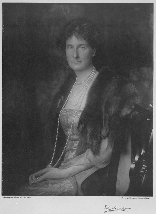Evelyn Cavendish Duchesse de Devonshire