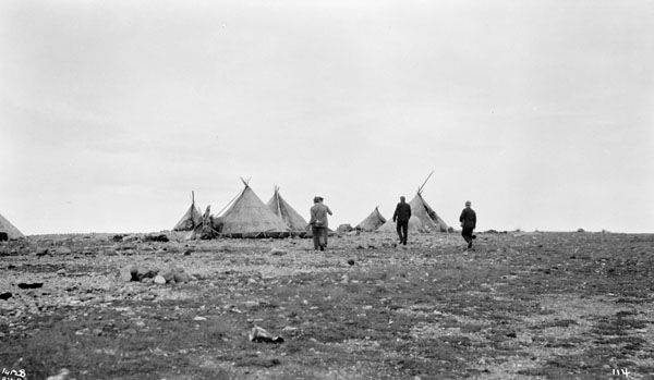Inuit Camp in Churchill