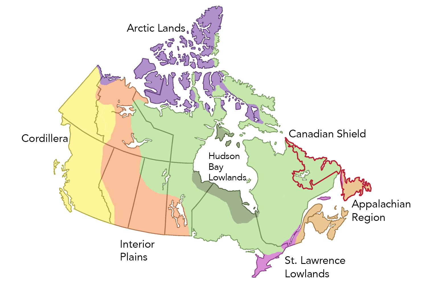 Newfoundland and Labrador's Physiographic Regions