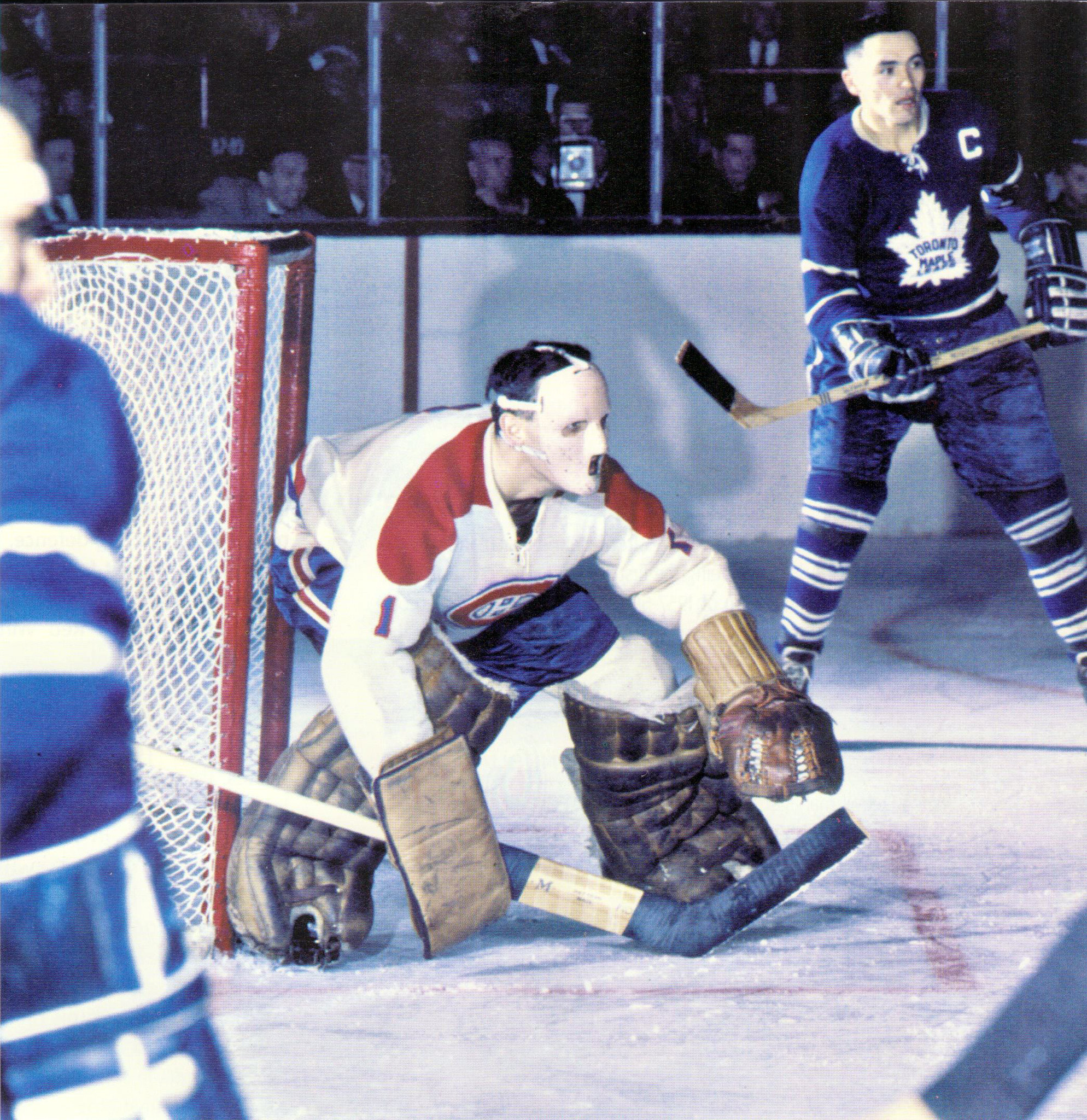 Jacques Plante, early 1960s
