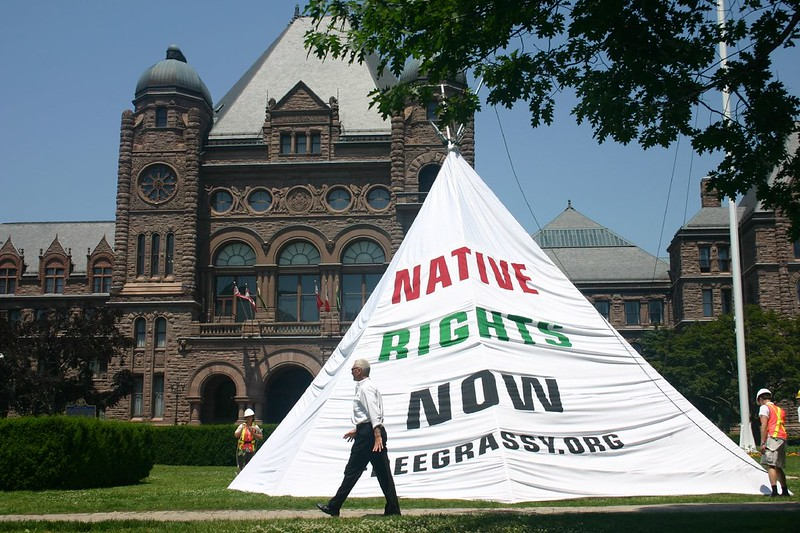 Grassy Narrows proteste