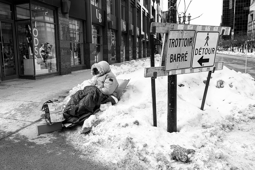 Homelessness in Montreal
