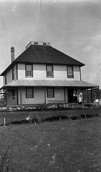 Indian Agent's House, Onion Lake, SK.