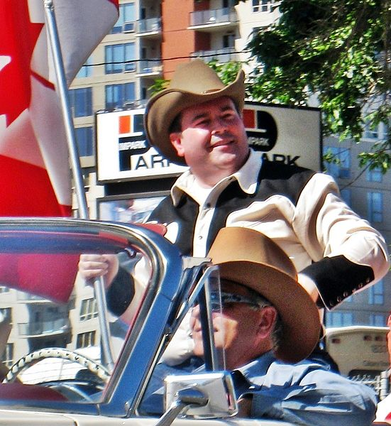 Jason Kenney at the Calgary Stampede