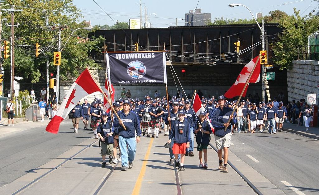 Labour Day Parade in Toronto, 2008
