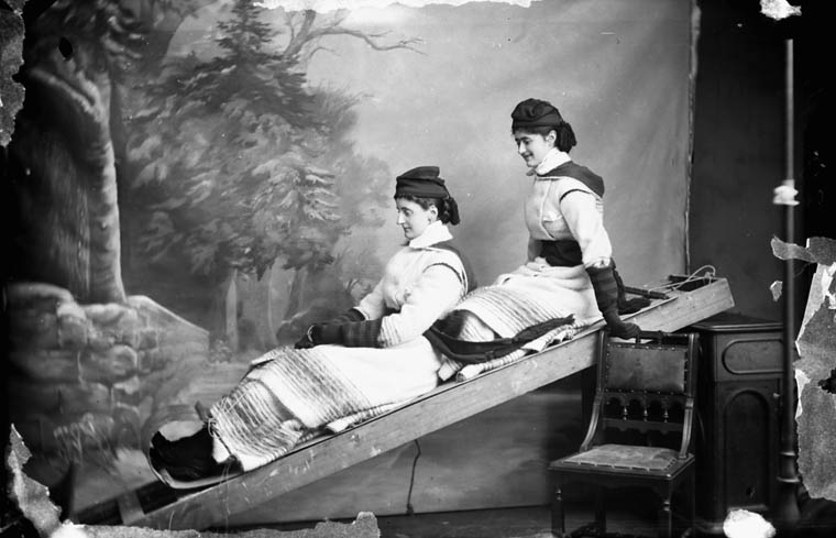 Lady Lansdowne and Lady Florence Anson