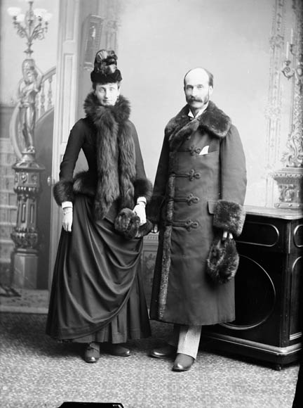 Henry Charles Keith Petty-Fitzmaurice and Maud Evelyn Petty-Fitzmaurice