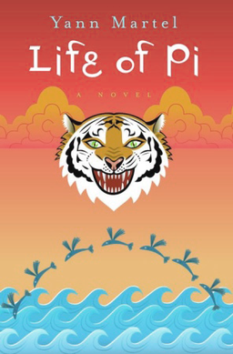 Front cover of the novel Life of Pi