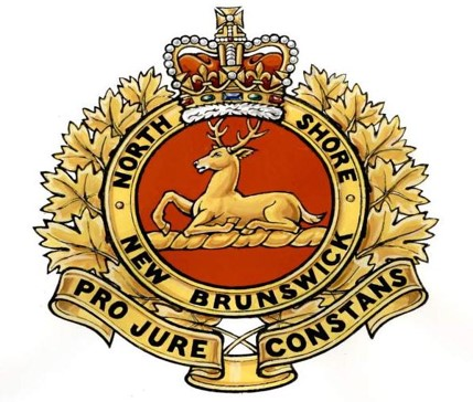 Insigne du North Shore (New Brunswick) Regiment