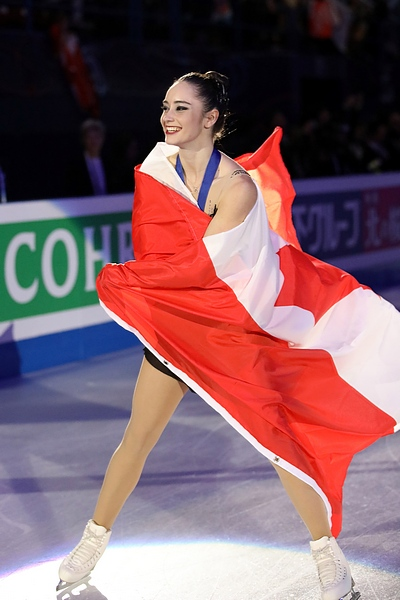 Kaetlyn Osmond, 2018 World Champion
