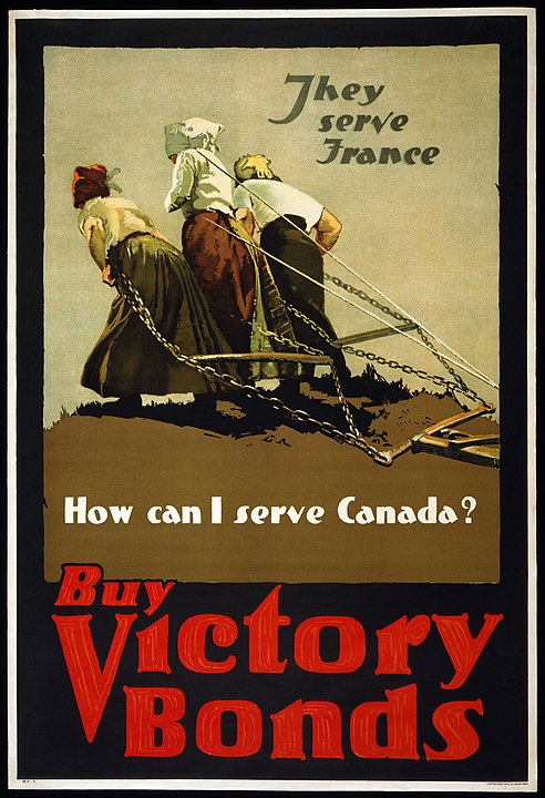 First World War Propaganda Poster
