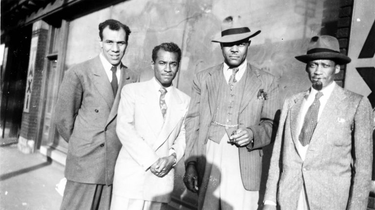 Four members of the Brotherhood of Sleeping Car Porters