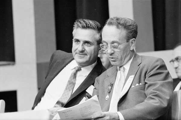 David Lewis and Tommy Douglas