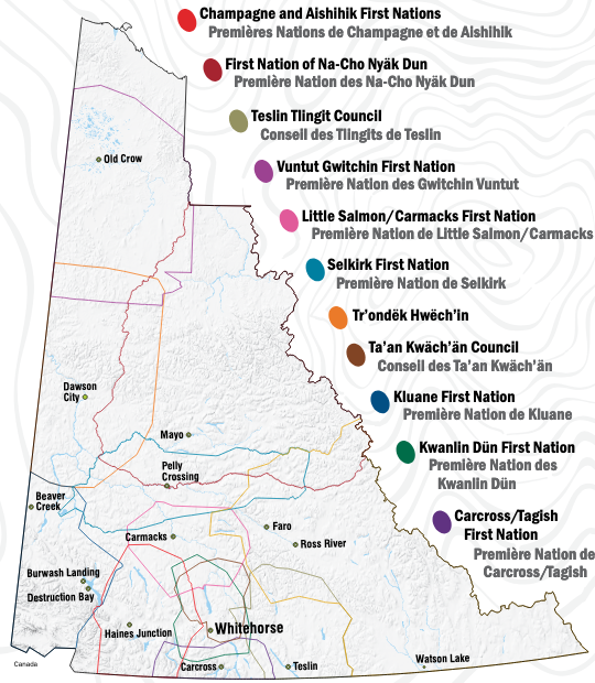Self-Governing First Nations, Yukon